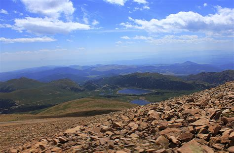 Far off Mountains at Pikes Peak, Colorado image - Free ...