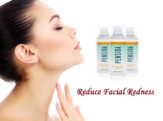 A facial helps to reduce #1