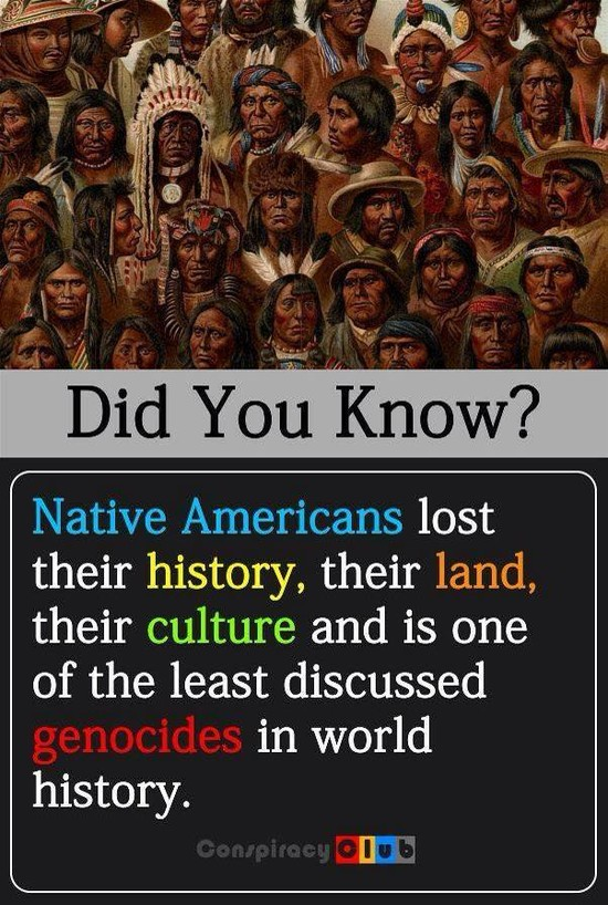 Did You Know? Native Americans Lost Their History, Their ...