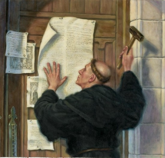 What Was Luther Doing When He Nailed His 95 Theses to the ...