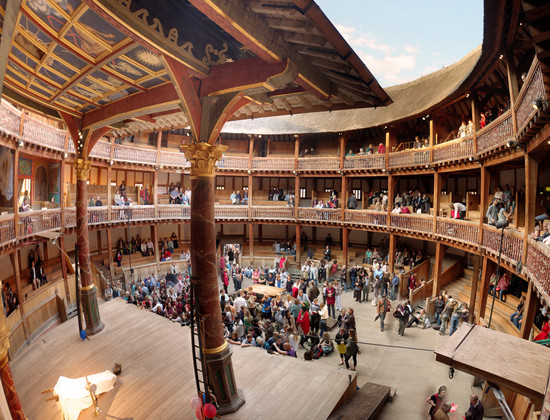 Pin The-globe-theatre on Pinterest