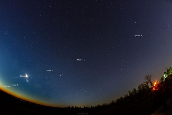 which planets are visible tonight - HD 1280×853