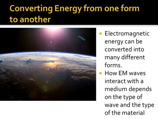 Effects of Electromagnetic Waves - ppt video online download