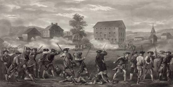 Battles of Lexington and Concord | United States history ...