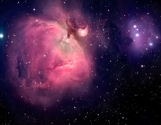 How Far Is Orion Nebula - Pics about space