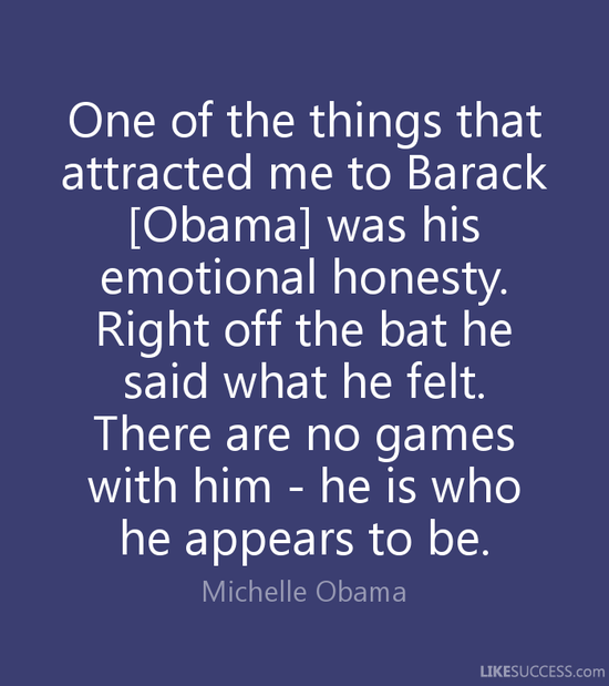 One of the things that attracted me to B by Michelle Obama ...