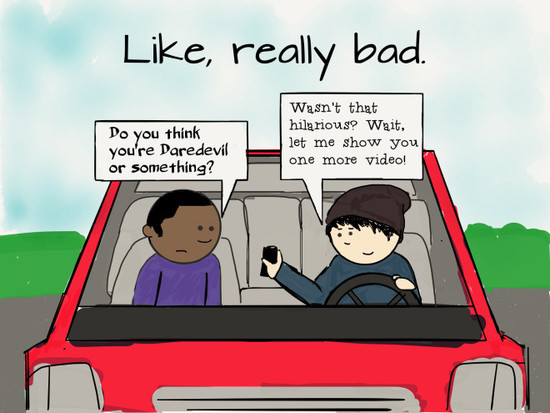 Distracted Drivers: People who use their phone while ...