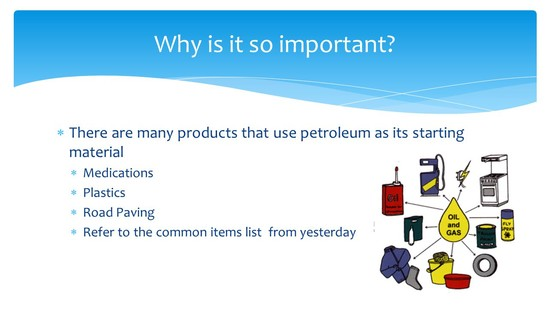 Petroleum makes the world go 'round - ppt video online ...
