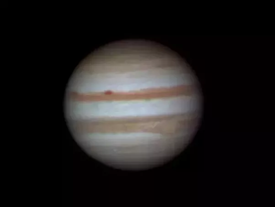 What does Jupiter look like from a home telescope?