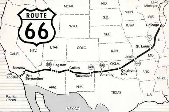 What States Does Route 66 Go Through | donttouchthespikes.com