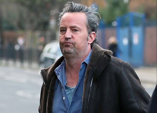 Matthew Perry has completely ditched Chandler Bing by the ...