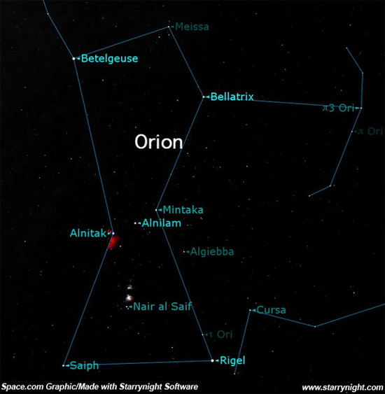 Astronomical Uplands: Constellation of the Month: Orion