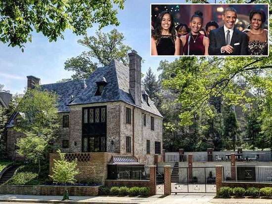 The Obama Family Will Live In D.C. Mansion After ...
