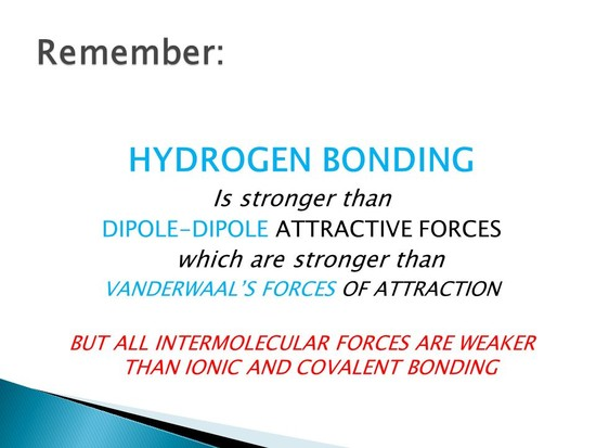 Why is a covalent bond stronger than ionic attraction?