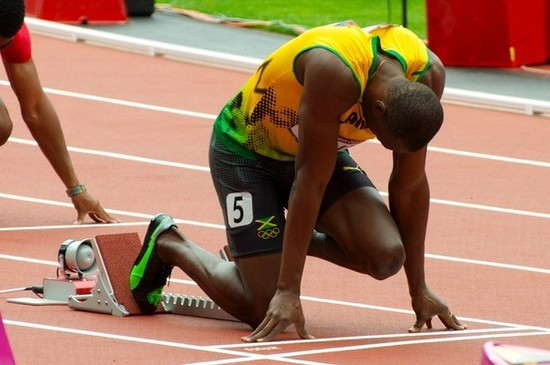 Who would win in a race, Usain Bolt or Jesse Owens? - Quora