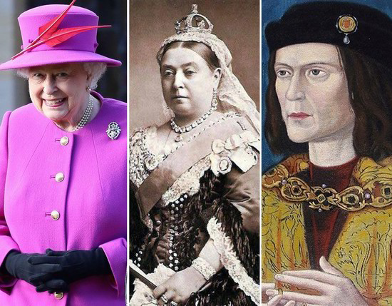British Monarchs through the ages | Royal Galleries | Pics ...