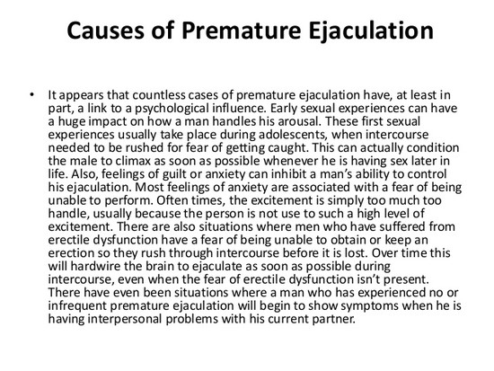 How To Stop Premature Ejaculation And Eliminate It For Good