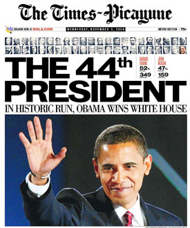 President Obama Election 2008: A Collection of Newspaper ...