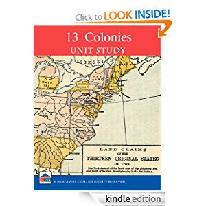 Amazon.com: Colonial America the 13 Colonies Unit Study ...