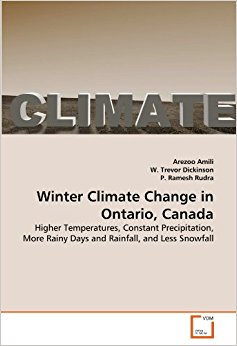 Winter Climate Change in Ontario, Canada: Higher ...