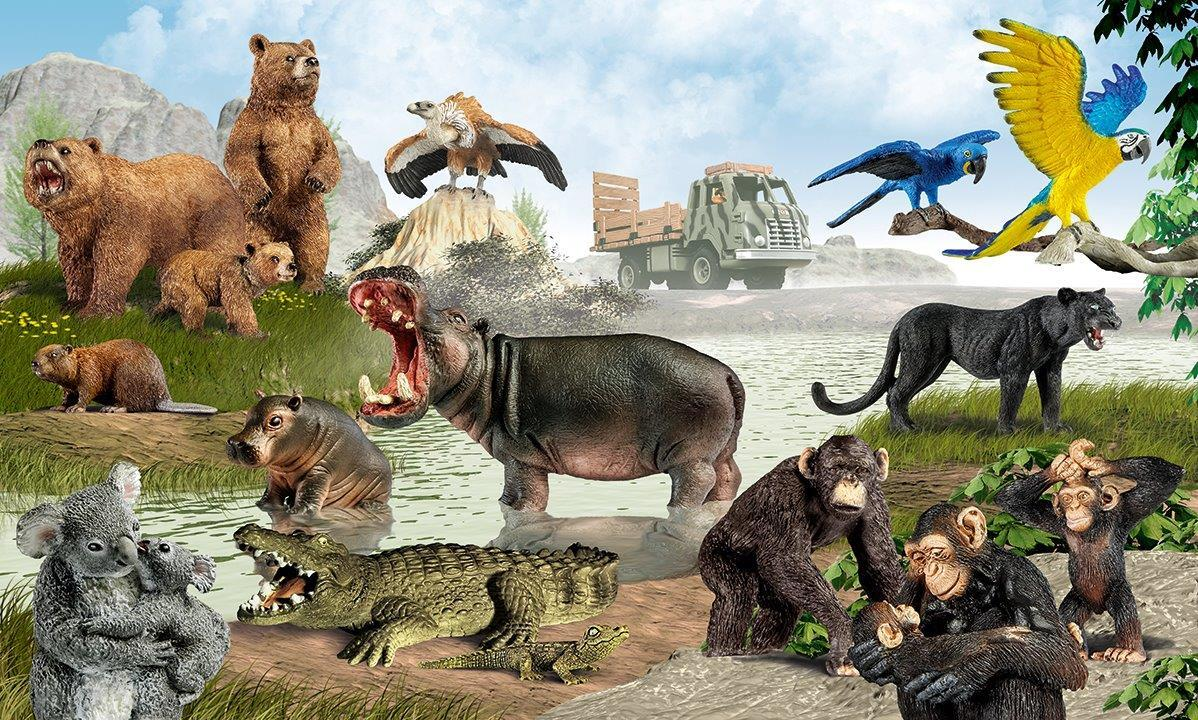Schleich Wild Life Playworld