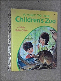 A Visit to the Children's Zoo (A Little Golden Book ...