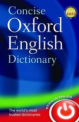Oxford ​Dictionary of English​