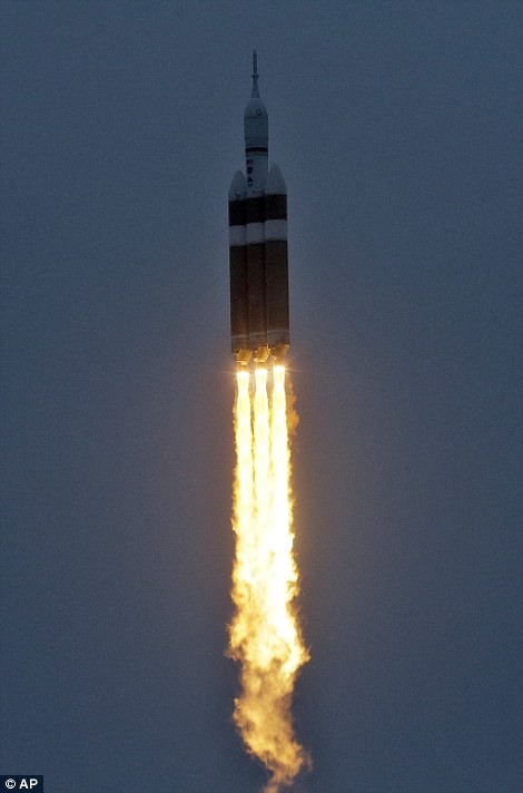Nasa's Orion spacecraft launches after yesterday's ...