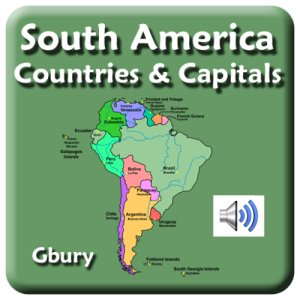 Amazon.com: South America Countries and Capital Cities ...