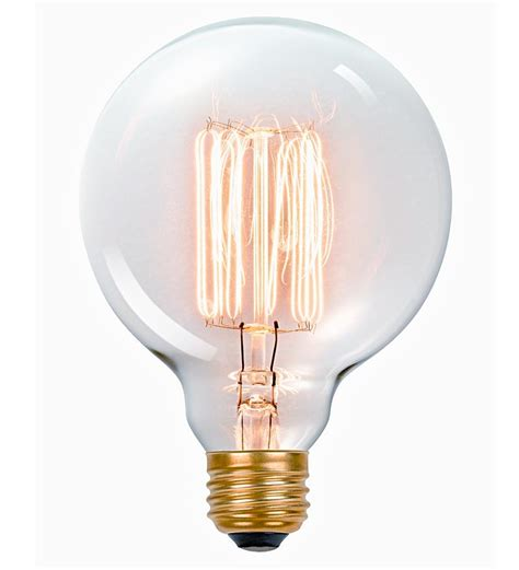 Vintage-Style Edison Vanity Tungsten Light Bulb | Lamps ...