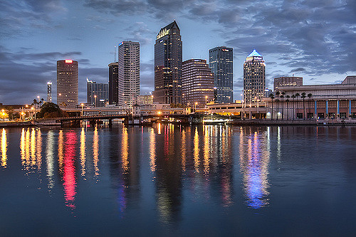 Downtown Tampa Reflection | Downtown Tampa Reflection ...