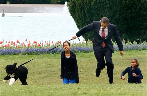 Image Gallery obama family dog