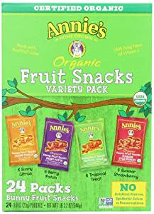 Amazon.com: Annie's Homegrown Organic Bunny Fruit Snacks ...