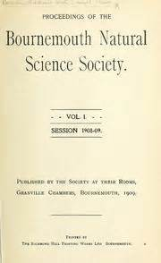 Bournemouth Natural Science Society