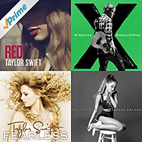 Amazon.com: Taylor Swift and More: Lady Antebellum, Lorde ...