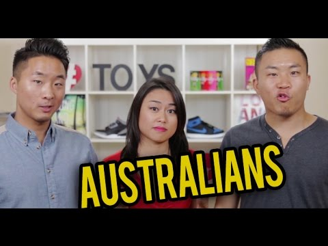 ASIAN AUSTRALIANS vs. ASIAN AMERICANS - YouTube