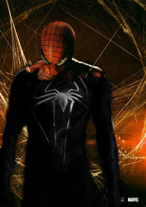 фото человека паука в черном костюме шашки больше