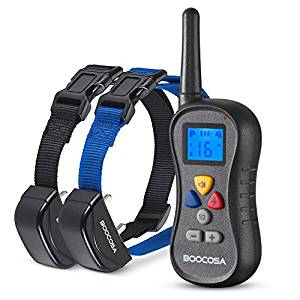 Amazon.com : BOOCOSA BA008 Best Dog Training Shock Collar ...